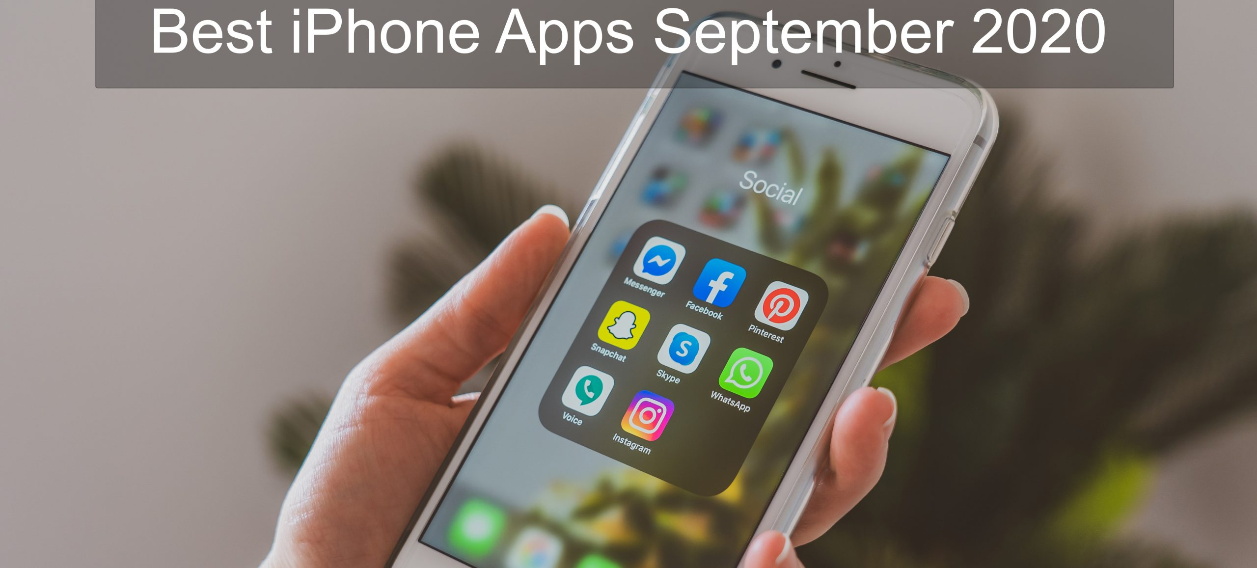 Must-have iPhone Apps
