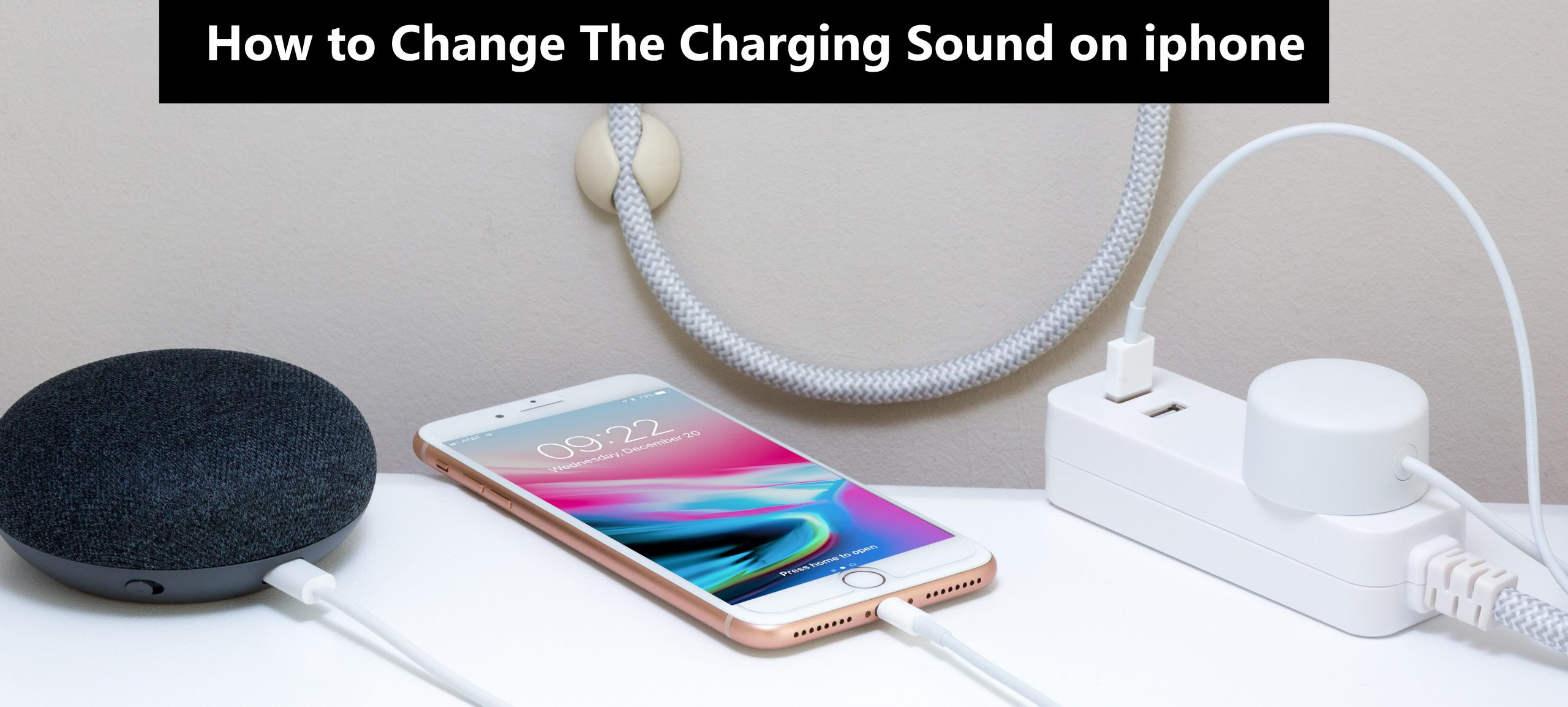 How to change the Charging Sound on iPhone