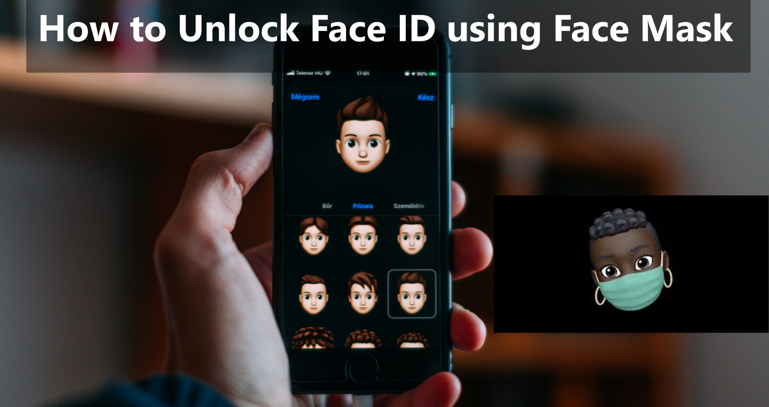 How to Unlock Face ID with Face Mask